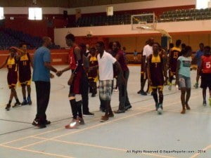 Since basketball encourages sportsmanship & provides an avenue for young people to display their creativity and skills on the court, this was an exciting and resourceful way to engage these young men and women to have practical and critical experience in teamwork, discipline and sportsmanship, to name a few.
