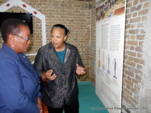 She responded to a suggestion made by Sir Winfield Marshall at the official opening of the Barbados Museum & Historical Society's Exhibition entitled: We Were Giants: The Story of the Barbadians who built the Panama Canal 1904-1914 at the Museum from Monday night.