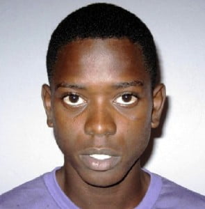 "Romario Antonio Clarke, 20 years old, of Garden Land, Country Road St. Michael.  He is about 5'9"" in height, slim build, and is of dark complexion.  He has an oval head and low black hair."