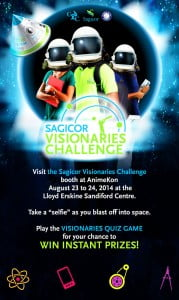 Students interested in entering the 2014 Sagicor Visionaries Challenge can visit the Facebook page at www.facebook.com/sagicorvisionaries for further details and instructions, and are encouraged to speak with their teachers for assistance in signing either as an individual or group entry. (CLICK FOR BIGGER)