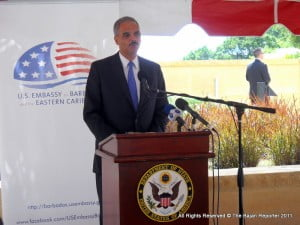"There was a forlorn hope expressed at the time that the US Attorney-General, Eric Holder, would be helpful because ""his parents were born in Barbados"". But, of course, nothing came of that hope. Mr Holder, after all, is an American and the Attorney-General of the US - that is where his loyalty lies. In any event, consultations with the US had clearly come to nought at that time."