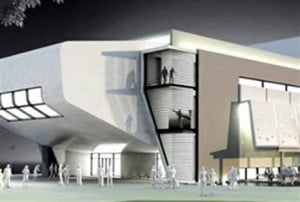 """""""The Performing Arts Center illustration that the UP party has made public, is a ready part of the vision of my party leader Theo Heyliger, which I wholeheartedly subscribe to,"""" said Arrindell, who is the #14 UP candidate for the parliamentary election of August 29, 2014."""
