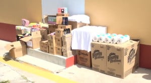 The donation from Dennis and Linda Thomas, their family, church and friends to the inmates of the Prison Farm and the Paediatric Ward at the Alexandra Hospital on August 07, 2014