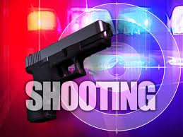 The man was said to be suffering from a gunshot wound to his chest, and subsequently died.