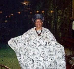 "Laurelle ""Yaya"" Richards in South Africa. (CLF photo)"