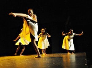 "COCO 2012 – ""#Troublefree"" choreographed by Anika Marcelle. Photo by Karen Johnstone."