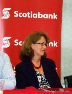 Lisa Cole, former Ad Agency Director, now Sr Marketing Manager at Scotiabank, made it clear for participants there's a mini-seminar on 20th September at their Haggatt Hall branch which helps when they apply by the deadline of 26/09/2014 for the new edition of the popular reality show.