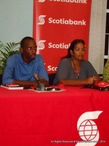 "This year's Elsie Payne Lecture features alumnus Dane Saddler of Caribbean Villa Chefs who appeared in Scotiabank's Reality TV series ""Bank On Me,"" and limited samples of food will be available for tasting. Also speaking will be business advisor Lynn Beckles (NOT FEATURED HERE)."