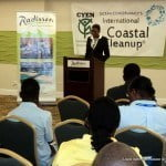 Address from Waynelle Collymore Taylor National Coordinator of Caribbean Youth Environment Network Barbados