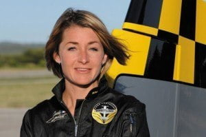 """I am proud to fly for this legendary brand which has contributed so much to the development of aeronautics and is the representative par excellence of the aviator's watch"" enthuses the champion. ""I am also proud of being the first woman to join the official Breitling pilots and thus defend the position of woman pilots."""