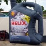 Helix inflatable