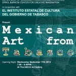 Mexican Art from Tabasco 03 Blue color