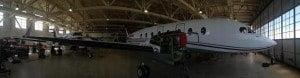 Phoenix Airways says it has a fleet of four aircraft - a King Air (8-9) seats, a Beech 1900 (19 seats), an Embraer 120ER (30 seats) and a ATR-200 (66 seats).