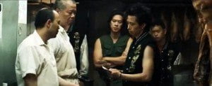 "(VIDEO SCREENSHOT) In the vein of crime classics like MEAN STREETS and INFERNAL AFFAIRS, REVENGE OF THE GREEN DRAGONS follows two immigrant brothers Sonny (Justin Chon) and Steven (Kevin Wu) who survive the impoverished despair of New York in the 1980s by joining Chinatown gang ""The Green Dragons""..."