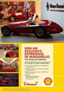 The world's love affair with Ferrari takes on new meaning for Barbadians this year as Shell offers Barbadians the opportunity to win a trip to Maranello Italy, the home of extraordinary Ferrari experiences. (CLICK FOR BIGGER)