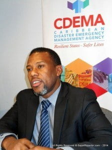 Mr. Ronald Jackson, Executive Director, of the Caribbean Disaster Emergency Management Agency (CDEMA), will be the key speaker at the session which will be held on Thursday 11th September.