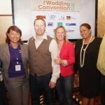 Staff members guest speaks and patrons mingling at The Wedding Convention 2013