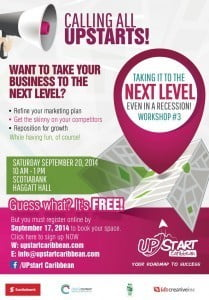 CLICK FOR BIGGER - 'Take It to the Next Level' - a small business expo with seminars, workshops and displays by local entrepreneurs