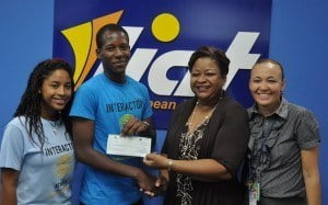 "Members of the Interact Club of the Antigua State College recently donated a cheque totalling $1,653.46 EC to the FDCC. Members of the Club, Christa-Joy Burton and Ki-jana Bowers presented the cheque on the Club's behalf. Ms. Burton noted that ""children are our future and we are proud to help them achieve their goals."" Mrs. Lucette James, FDCC Board Member, was on hand to receive the donation and remarked: ""we are warmly appreciative of your efforts...we hope the work of the FDCC will result in opportunities for our region's young people."""