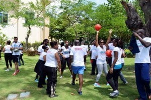 There was heavy emphasis on the importance of physical activity and the positive impact it has on one's life