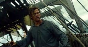 """Based on the true story of the Essex whaleship that was attacked and sunk by a sperm whale in the southern Pacific Ocean in 1820. This incident inspired Herman Melville's """"Moby Dick""""."""