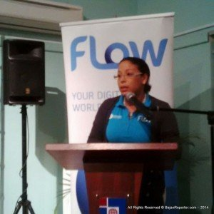 The VP of Sales & Marketing also indicated to potential subscribers that Flow has Mature content & channels for those who want more exciting programming.