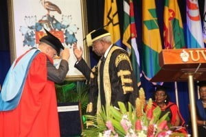 The Citation for the Honorary Degree of Doctor of Letters (D.Litt) was presented by the University of the West Indies at the St Augustine Campus