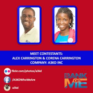 (CLICK FOR BIGGER) Meet the A3KD Team. #BANKonME Season 2 #Barbados Visit www.bankonme.tv