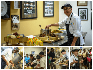 """On Thursday September 25th the St Kitts Marriott Resort & the Royal Beach Casino was host to an event to say """"Thank You"""" to all its local suppliers, fishermen and farmers. The event was spearheaded by the resort's new Director of Food & Beverage, Joe Niemeier and his team."""