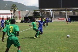 The weeklong Digicel Kickstart Academy saw 42 aspiring young footballers from across 13 countries benefiting from the latest football techniques as used in the Chelsea FC youth football programme
