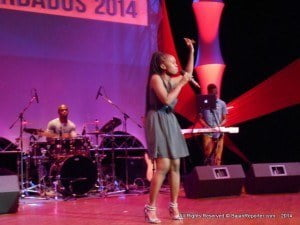 Lashana Lewis into her Gospel tune