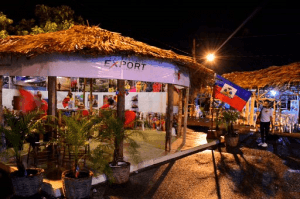 Caribbean Export sponsored the Haiti Pavillion where the Ministry of Tourism exhibited the country's ecotouristic potential with beautiful tropical beaches and mountains, and also showcased Haitian beverages and handicraft.