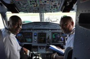 Pilots in happier times