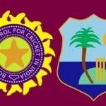 India vs West Indies ddinews.gov .in