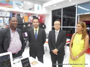 This was one of two main observations from Commerce Minister, Donville Inniss, during the launch of the Warrens outlet of computer store Promotech, which is celebrating 15 years.