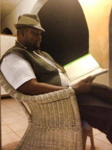 """Alexis """"Lexus"""" Ryan, poetry workshop participant in St. Martin, guest poet at The Jamaica Poetry Festival, 2014 has been a busy year for this determined Anguillan poet. (photo courtesy IrieLife FB)"""
