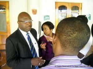 (FILE IMAGE - IF YOU SEE THIS AT BARBADOS TODAY? IT MEANS THEY STOLE MY IMAGES AGAIN, COULDN'T BE BOTHERED TO ASK ME ) Adriel Brathwaite, Attorney General and Minister of Home Affairs will give the feature address at the opening ceremony of the regional workshop.