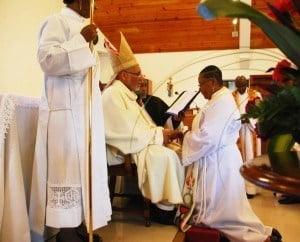 Diocesan Bishop of Jamaica and the Cayman Islands, the Rt. Rev. Dr. Howard Gregory, was the Chief Celebrant, and Archdeacon of Kingston, the Venerable Patrick Cunningham, was the Presiding Archdeacon.