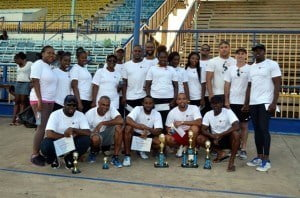 FirstCaribbean dominated the honours during Physical Challenge Day with its teams winning the three top spots.