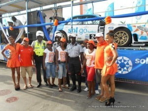 (PERSONAL FILE IMAGE) Title sponsor of Rally Barbados, Sol, was among more than 40 organisations and individuals recognised for their contribution to sport at the 32nd Annual National Sports Council Awards staged in the island's capital Bridgetown.