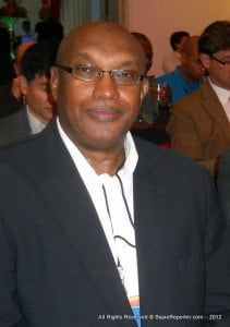 President of the Association of Caribbean MediaWorkers - Clive Bacchus