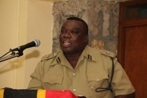 Divisional Officer Superintendent Hilroy Brandy gave his view on revealed statistics when he addressed officers stationed on Nevis at the annual New Year's gathering. The event was held at the Charlestown Police Station on January 05, 2015.