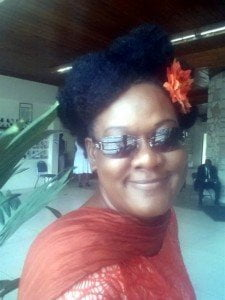 Charlene Spencer, from the island of St. Croix