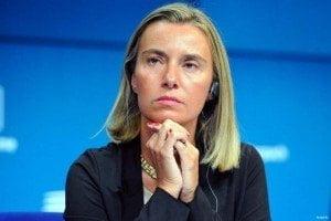 (IMAGE VIA - psnews.ro) EU High Representative/Vice-President Federica Mogherini