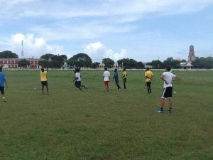Rugby is already being promoted at several primary and secondary schools across the island, including Queen's College, Harrison College, Princess Margaret, Christ Church Foundation, Providence and St. George Primary.