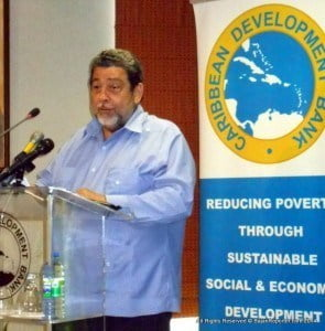 (PERSONAL FILE IMAGE - NOT FOR BARBADOS TODAY TO STEAL!) Dr Ralph Gonsalves