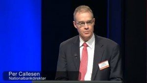(IMAGE VIA: kommune-tv.dk) Previously, Callesen held a number of leading positions at the Danish Ministry of Finance, such as Deputy Permanent Secretary for Macroeconomic policies (1993-2003) and International economic policies and relations (2003-2010).  He was head of Division during the period 1991-1993.