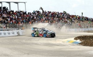 In 2014, the practice, qualifying and race action was spread across two days, but this year, each day will represent a full points-scoring round of the Championship, Barbados joining Detroit and Los Angeles as double-headers. Last year's Bushy Park winner Scott Speed (Volkswagen Andretti Rallycross) went on to finish third at year-end, behind the Ford Fiesta STs of Joni Wiman (Oldsberg MSE) and Ken Block (Hoonigan Racing Division), with the title fight decided at the final round in Las Vegas.