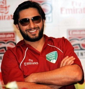 """The right-handed all-rounder, also called """"Boom Boom Afridi"""" for his aggressive batting style, has batted for 11 centuries and 50 half-centuries. At 34 years old, Afridi brings over 16 years of all-round experience to the pitch, boasting over 10,000 runs and 500 wickets in all forms of the game."""