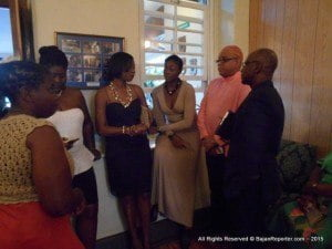 It is for this reason that members of the Parish Independence Committees, parish ambassadors and attendants, were showered with awards and tokens of appreciation by the Ministry of Culture's Community Independence Celebrations Secretariat (CICS) last Saturday, at the Officers' Mess of the Barbados Defence Force, at St. Ann's Fort.
